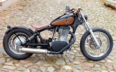 Suzuki  LS650 EZ 1986,Motor ca.19tkm, 20kw, Neuaufbau im Okt./Nov. 2012 für  1-Mann in Bobber-Optik, Umbau in unserer Meisterwerkstatt  mit...