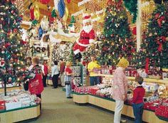 Bronner's CHRISTmas Wonderland! I spent hours there today and never wanted to leave. This picture does not even capture the magic...