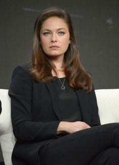 Actress Alexa Davalos attends the Amazon 2016 Summer TCA Press Tour at The Beverly Hilton Hotel on August 7, 2016 in Beverly Hills, California.
