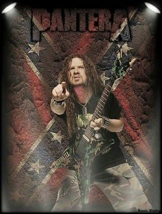 Loved and missed by his fans and family ☝🎸🎶🤘 Heavy Metal Rock, Heavy Metal Bands, Paul Abbott, Dime Bags, Vinnie Paul, Black Label Society, Dimebag Darrell, Tonight Alive, Thrash Metal
