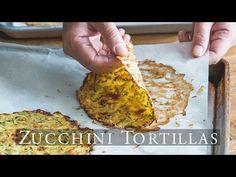 "Healthy Zucchini Soft ""Taco"" Tortilla Shells – White on Rice Couple"