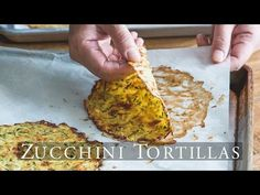"Healthy Zucchini Soft ""Taco"" Tortilla Shells – White on Rice Couple"