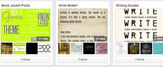Got writer's block? Here are 5 ways that YOU can utilize Pinterest as a writing tool. #amwriting #socialmedia