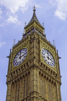 Clock Tower (Big Ben)-London. by FaceChoo Yong on 500px