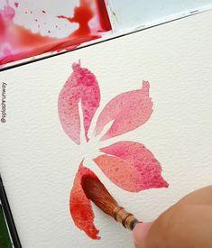 "Gefällt 2,701 Mal, 69 Kommentare - Art workshops by Oonhim🌻 (@splashrunway) auf Instagram: ""A simple floral tutorial using the basic stroke. Pardon the sketchy shapes - I had the phone…"""