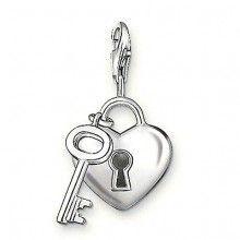 Charm Heart   Key - Thomas Sabo Charm