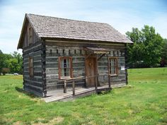 Overland Historical Society Log House St Louis Missouri