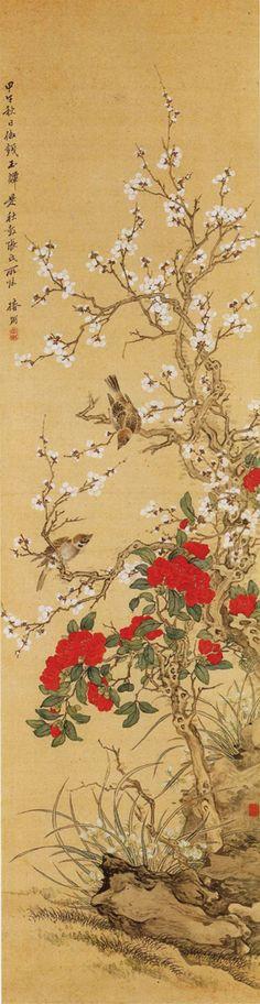Tsubaki CHINZAN (1801-1854), Japan 椿 椿山