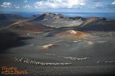 Marsjańskie krajobrazy Parku Timanfaya w obiektywie Wojtka #Lanzarote