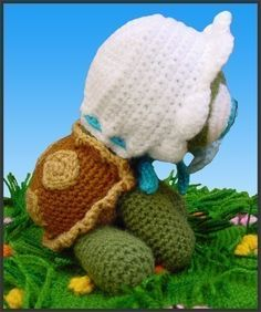 Amigurumi Crochet Pattern - Baby Turtle. $5.20, via Etsy.