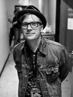 Patrick Stump, lead singer of Fall Out Boy. Description from pinterest.com. I searched for this on bing.com/images