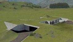 underground+homes   Michael Hill - His New underground House