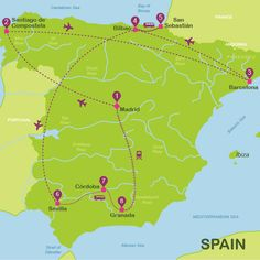 Spain in 17 days for independent travellers