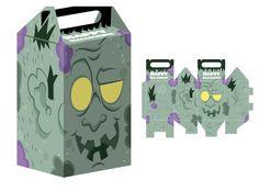 Actividades Halloween para niños, descargar recortables de cajas de caramelos para Halloween, manualidades infantiles, artesanias faciles