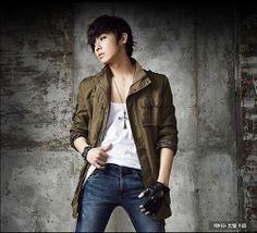 Lee Joon, Korea Boy, Skin Tight, Asian Men, Korean Singer, Boy Bands, The Man, Military Jacket, Hot Guys