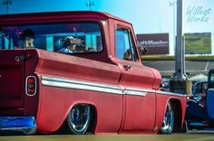 1964 1965 1966 c10 chev chevy Chevrolet slammed dropped laid out pickup truck