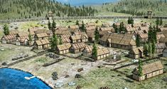 Jurta - 3D modell - Mozaik Digitális Oktatás Medieval Houses, 3d Modelle, Stepping Stones, Outdoor Decor, Stair Risers