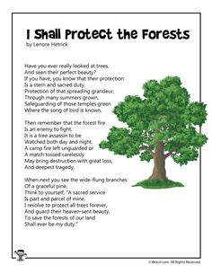 Original printable kids poems for Earth Day, teaching children about recycling and reducing consumption. Nature Poems For Kids, Poetry For Kids, Kids Poems, Tree Poem, Poem On Save Trees, Poem On Environment, Funny Songs For Kids, Science Poems, Earth For Kids