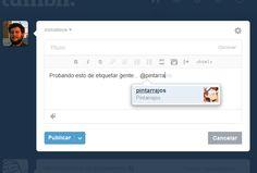 Tumblr ahora permite etiquetar perfiles dentro de sus publicaciones  http://www.genbeta.com/p/110218