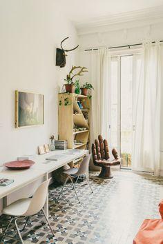 Freunde von Freunden — Andrew Trotter & Mari Luz Vidal — Interior Designer & Photographer, Apartment & Studio, Barcelona — http://www.freundevonfreunden.com/interviews/andrew-trotter-mari-luz-vidal/