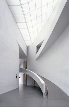 KIASMA MUSEUM OF CONTEMPORARY ART By Steven Holl  Helsinki, Finland, 1992-1998
