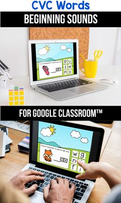 Looking for ideas for the google classroom for your kindergarten, first grade or special education kids? These activities are perfect for teachers to use in the classroom or for parents to use for homeschool. These CVC rhyming word activities for beginners replace old and outdated worksheets. You can use them while distance learning to make learning CVC words with pictures, short a, short e, short i, short o or short u easier. #googleclassroom #cvcwords #digitallearning #distancelearning Writing Resources, Learning Resources, Teacher Resources, Classroom Resources, 1st Grade Activities, Cvc Words, Informational Texts, Nonfiction, Google Classroom