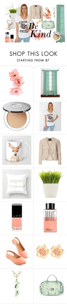 """""""Vegan t-shirt by Quinoa Apparel"""" by quinoa-apparel ❤ liked on Polyvore featuring Rizzy Home, Dorothy Perkins, Dot & Bo, LVX, Make, Sence Copenhagen, Devon Leigh, Sole Society, women's clothing and women"""