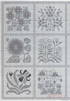 Prairie Garden • 3/4 Charts for 6 Blocks [PSS #35]