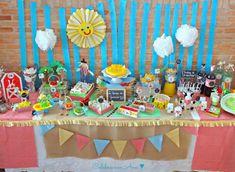 "Gran cumple ""La Granja de Gonzalo"" • Celebra con Ana Farm Birthday, Birthday Parties, Birthday Cake, Barnyard Party, Farm Party, Farm Cake, Ideas Para Fiestas, Party Desserts, Home Interior"