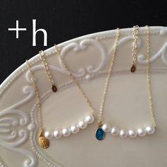 【ネックレス(右)】Miraculous medal necklace BL×GD by plus-h アクセサリー ネックレス