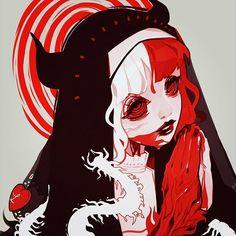 61 ideas anime art cute aesthetic for 2019 Arte Horror, Horror Art, Art And Illustration, Art Sinistre, Character Inspiration, Character Art, Art Sketches, Art Drawings, Arte Dope