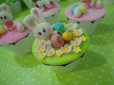 Easter Cupcakes  - inspiration only - bjl