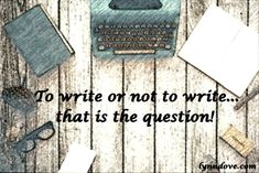 InScribe Writers Online: New Year's Resolutions - Lynn Dove