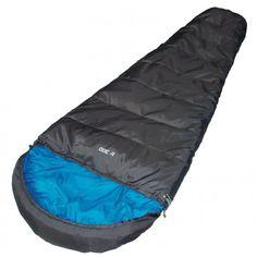 De #HighPeak TR 300 #slaapzak zorgt voor een comfortabele warmte. De slaapzak beschikt daarvoor over isolerende Dura loft vezels en een tochtstrook.