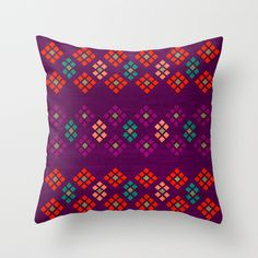 Buy Geo Flowers by Sandra Arduini as a high quality Throw Pillow. Worldwide shipping available at Society6.com. Just one of millions of products available.