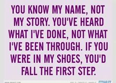 If you were in my shoes...