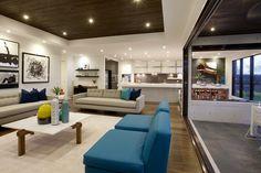 Study Nook next to Kitchen World of Style: Californian - Porter Davis Homes