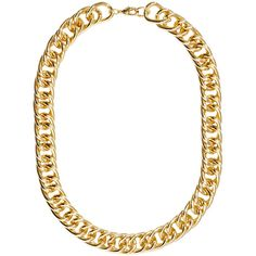 H&M Chain necklace (8.12 CAD) ❤ liked on Polyvore featuring jewelry, necklaces, accessories, gold, h&m, chain necklace, h&m necklace, chain jewelry and h&m jewelry