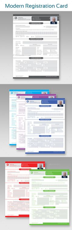Photofolio Template Adobe indesign and Font logo - commercial business form