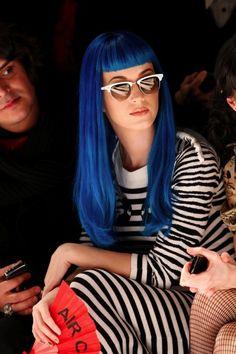 Katy Perry Blue Hair
