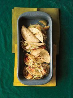 Grilled Shrimp Tacos | Get the recipe for Grilled Shrimp Tacos.