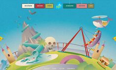 25 Examples of Creative and Fantastic Illustrations in Web Design. (+20 new designs)
