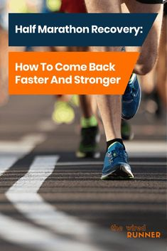 In this article, we cover everything you need to know about recovering from a half marathon. This includes a detailed recovery plan with day by day guide. Half Marathon Recovery, Half Marathon Tips, Half Marathon Training Plan, Marathon Running, Half Marathons, Triathlon Training, Running Training, One Song Workouts, Cheer Workouts