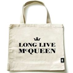 Long Live McQueen statement tote by Lola & Bailey