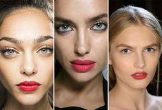 Opciones de rojos para los labios