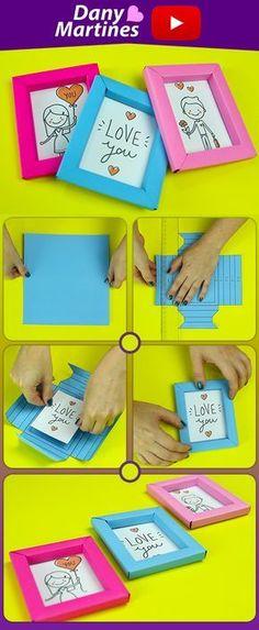 Faça você mesmo mini quadrinhos coloridos feitos com papel, diy, do it yourself, quadrinhos kawaii