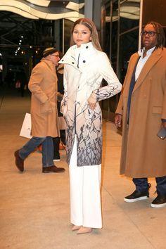 ZENDAYA Night Out in New York - HawtCelebs - Celebrity Fashion Trends