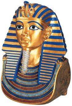 Tut and Nefertiti The Golden Mask of Tutankhamen Bust   Wayfair