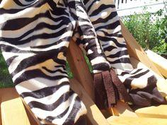 Child Size 2T/3 Brown and Tan Zebra Costume