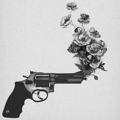 guns n' roses images, image search, & inspiration to browse every day. Art And Illustration, Peace Tumblr, Psychedelic Art, Pistola Tattoo, Wallpaper Bonitos, Josie Loves, Art Beat, Guns And Roses, Foto Art